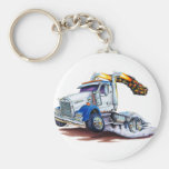 Semi Truck Key Chains