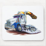 Semi Truck Mouse Pad
