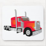 Semi Truck Mouse Pads