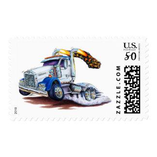 Semi Truck Postage