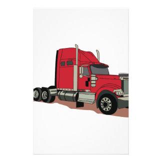 Semi Truck Stationery
