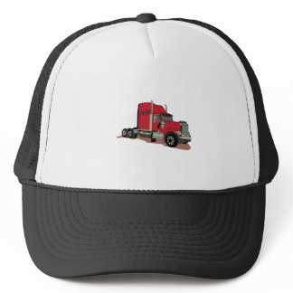 Semi Truck Trucker Hat