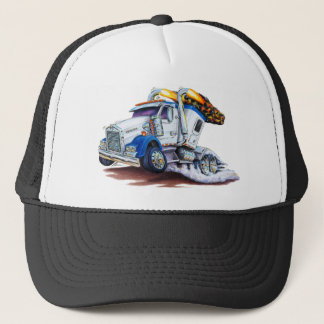 Semi Truck with Sleepercab Trucker Hat
