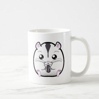 Semi White Russian Dwarf Hamster Coffee Mug