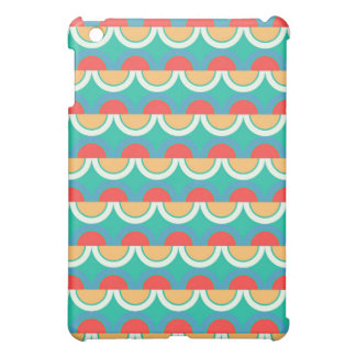 Semicircles and arcs pattern cover for the iPad mini