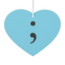 Semicolon Air Freshener