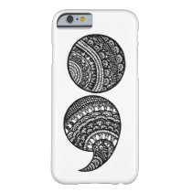 semicolon barely there iPhone 6 case
