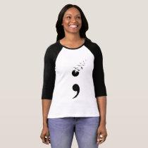Semicolon birds T-Shirt