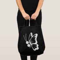 Semicolon Butterfly Tote
