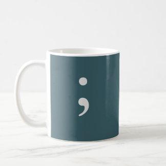 Semicolon Coffee Mug