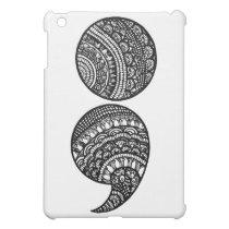 semicolon cover for the iPad mini