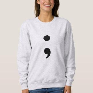 Semicolon for Mental Health Awareness   Sweatshirt