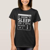 Semicolon Hide And Seek Champion Programmer Coding T-Shirt
