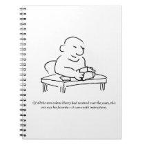Semicolon Instructions Notebook