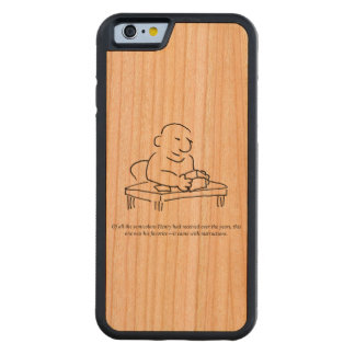Semicolon Instructions Wood Smartphone Case