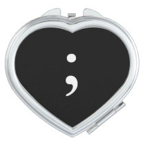 Semicolon Mirror For Makeup