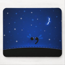 Semicolon Mouse Pad