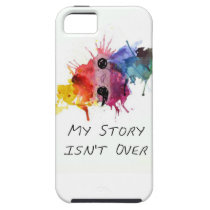 Semicolon- My Story isnt Over iPhone SE/5/5s Case
