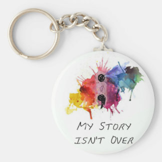 Semicolon- My Story isnt Over Keychain