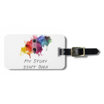 Semicolon- My Story isnt Over Luggage Tag