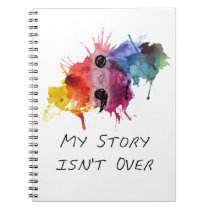 Semicolon- My Story isnt Over Notebook