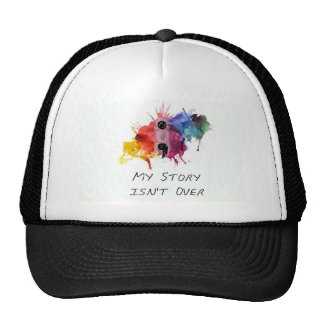 Semicolon- My Story isnt Over Trucker Hat