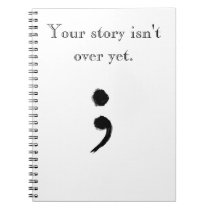 Semicolon notebook