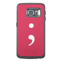 Semicolon OtterBox Samsung Galaxy S6 Edge Case
