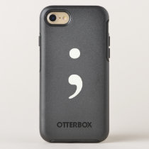 Semicolon OtterBox Symmetry iPhone 8/7 Case