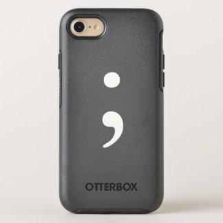 Semicolon OtterBox Symmetry iPhone 8/7 Case