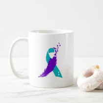 Semicolon Suicide Awareness Ribbon Coffee Cup Mug