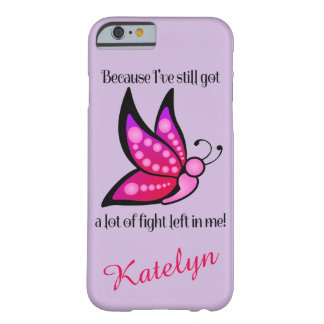 Semicolon Suicide/Depression Awareness Butterfly Barely There iPhone 6 Case