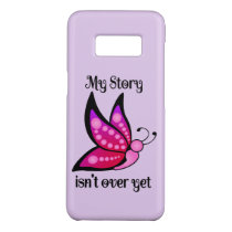 Semicolon Suicide/Depression Awareness Butterfly Case-Mate Samsung Galaxy S8 Case
