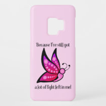 Semicolon Suicide/Depression Awareness Butterfly Case-Mate Samsung Galaxy S9 Case