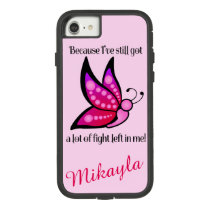 Semicolon Suicide/Depression Awareness Butterfly Case-Mate Tough Extreme iPhone 8/7 Case