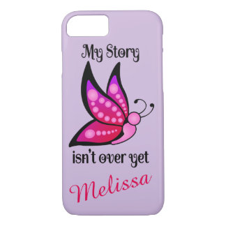 Semicolon Suicide/Depression Awareness Butterfly iPhone 8/7 Case