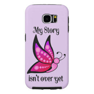 Semicolon Suicide/Depression Awareness Butterfly Samsung Galaxy S6 Case