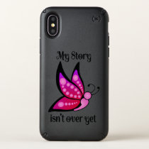 Semicolon Suicide/Depression Awareness Butterfly Speck iPhone X Case