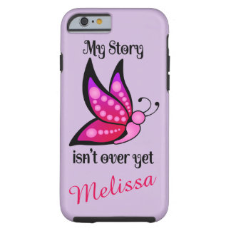 Semicolon Suicide/Depression Awareness Butterfly Tough iPhone 6 Case