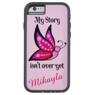 Semicolon Suicide/Depression Awareness Butterfly Tough Xtreme iPhone 6 Case