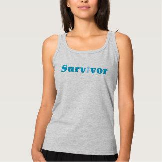 Semicolon Suicide/Depression Awareness Survivor Tank Top