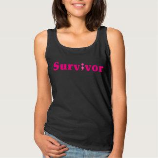 Semicolon Suicide/Depression Survivor Pink Tank Top