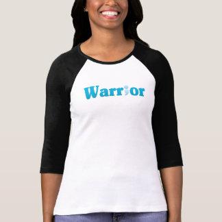 Semicolon Suicide/Depression Warrior Blue T-Shirt