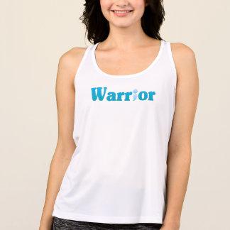 Semicolon Suicide/Depression Warrior Blue Tank Top