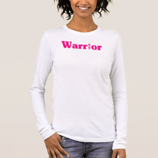 Semicolon Suicide/Depression Warrior Hot Pink Long Sleeve T-Shirt