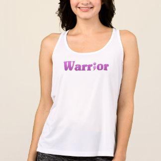 Semicolon Suicide/Depression Warrior Purple Tank Top