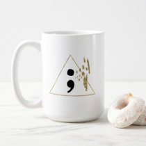 Semicolon Trifecta Coffee Mug