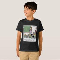 "Semicolon ""Winky Face"" Teacher Cartoon T-Shirt"