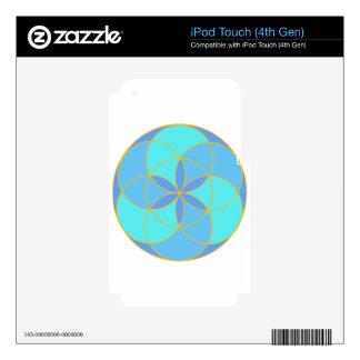 Semilla del ángel 11 de la vida iPod touch 4G calcomanías