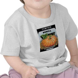 semillas de calabaza camisetas